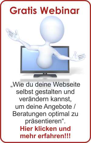 Banner Gratis Webinar - Webseite erstellen