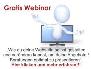 Gratis Webinar - Webseite erstellen